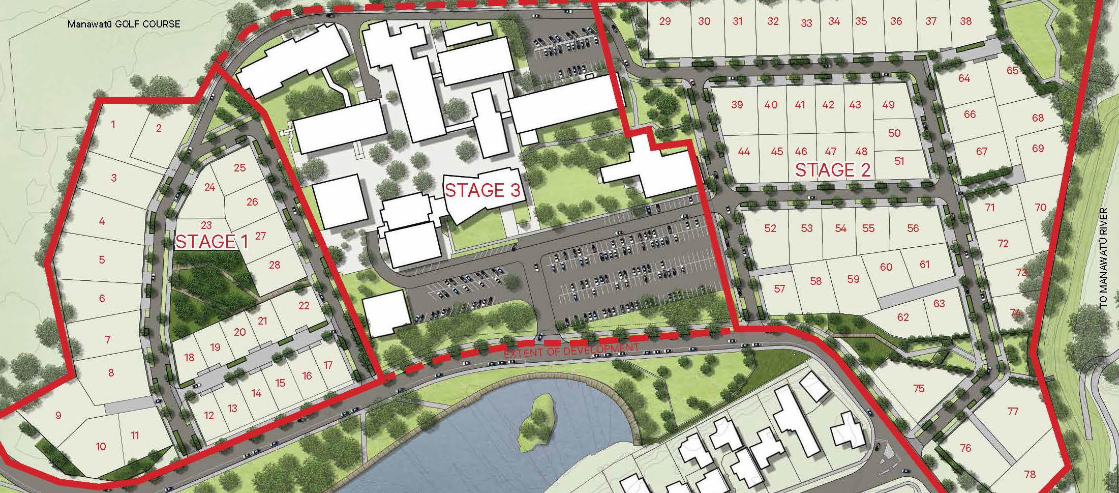 Centennial Park - Concept Masterplan