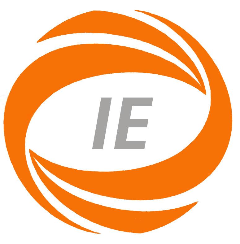 IE Logo – Orange&Grey