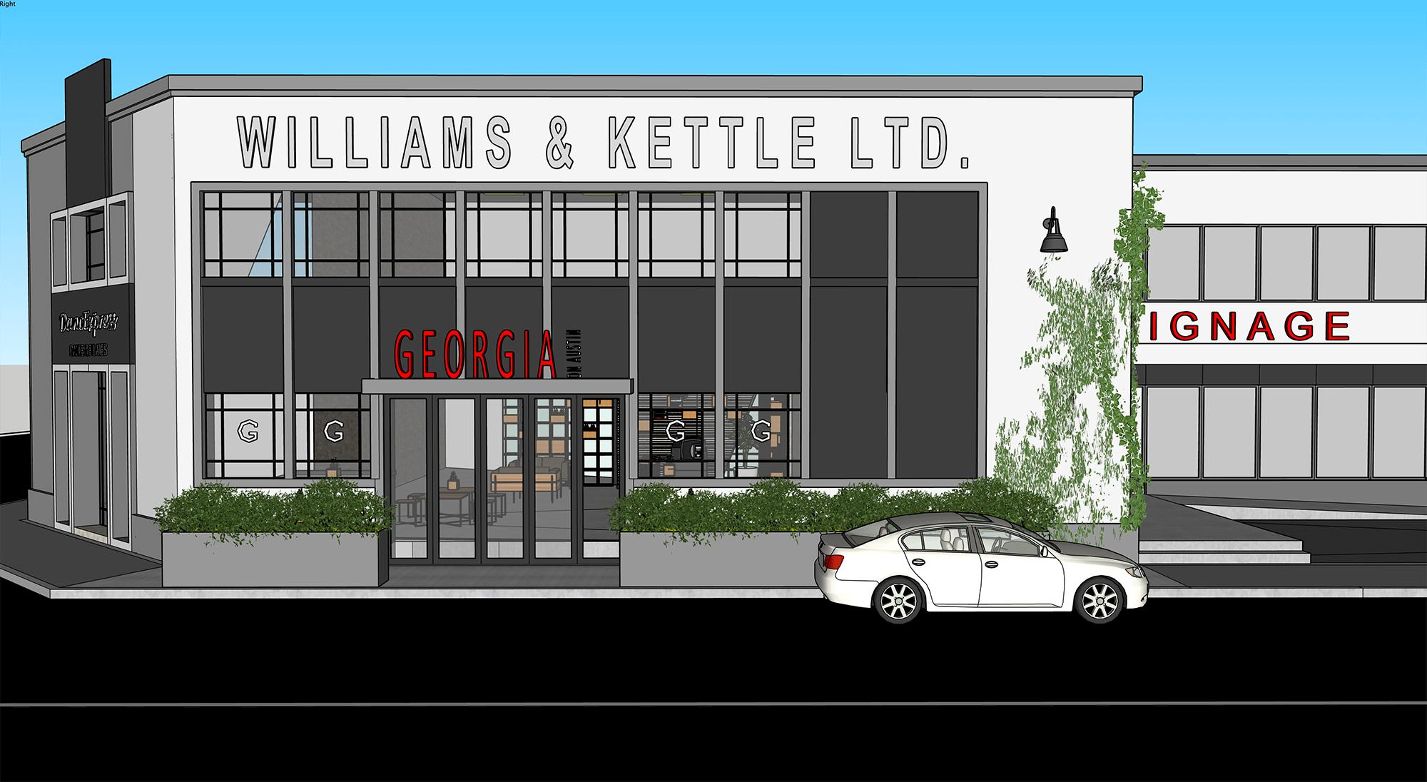 Georgia Cafe – Onekawa